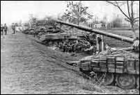 Боевые позиции 324 мсп у племенного хозяйства в момент блокирования дороги на Грозный. Командованием федеральных войск на третьем этапе штурма чеченской столицы предусматривался полный контроль над городом с юга. Февраль 1995 г