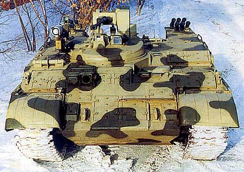 Тяжелый бронетранспортер БТР-Т на базе танка Т-55