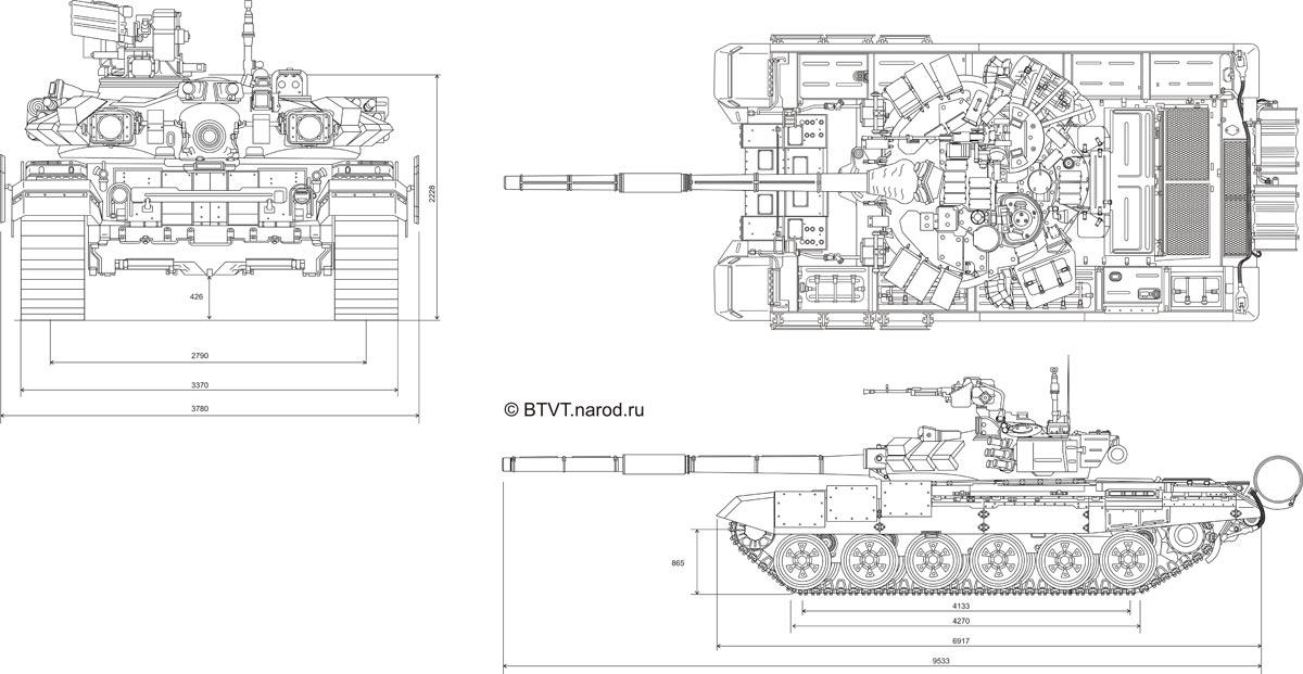 Основной боевой танк Т-.