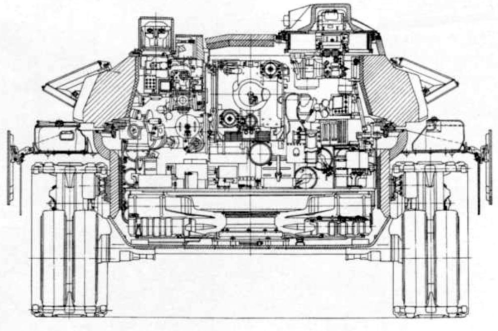 Компоновка танка т 90