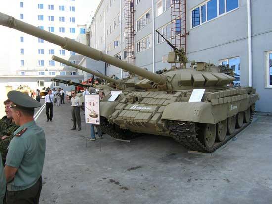 Модернизированный КБТМ Т-55