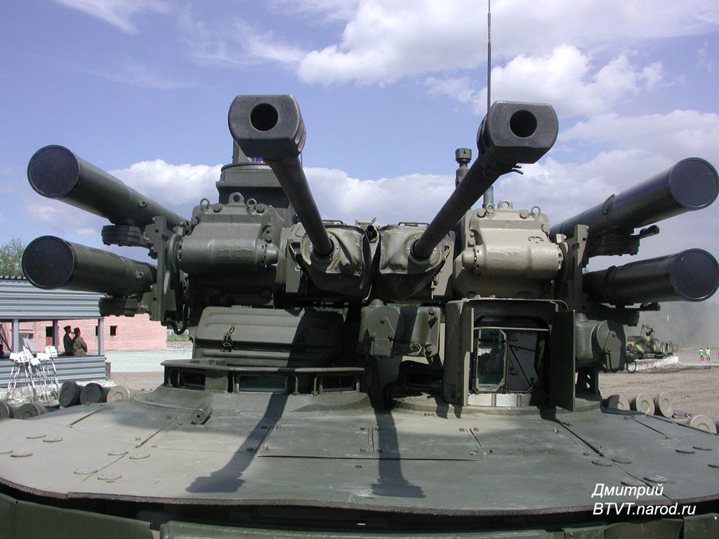 عربة الإسناد الجديدة المدرعة BMPT Bmpt20