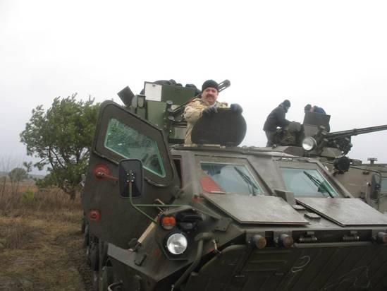 БТР-4 в Ираке
