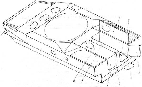 Схема бронирования БМП-3